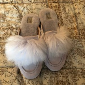 Ugg furry softness and comfort